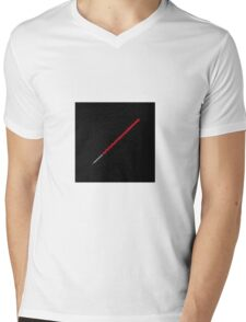 Lightsaber Mens V-Neck T-Shirt