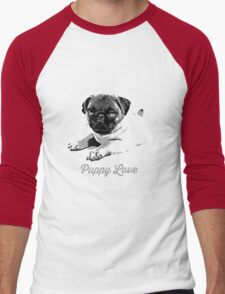 Puppy Love Men's Baseball ¾ T-Shirt