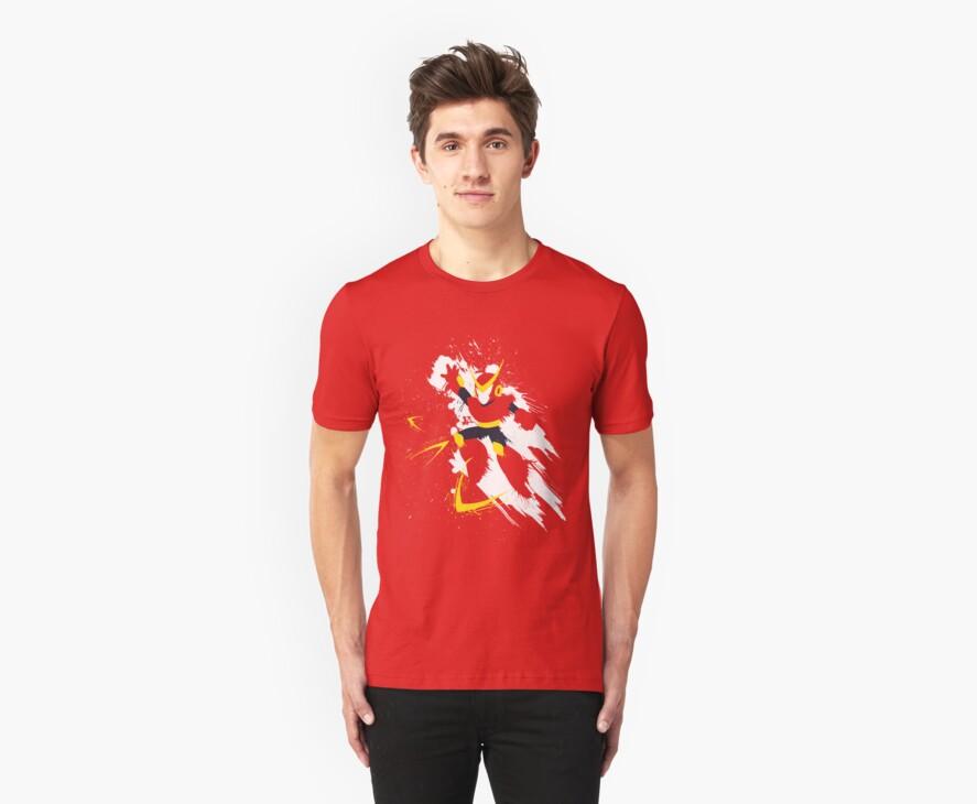 Quickman Splattery Shirt by thedailyrobot