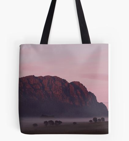 Mt Roland & Fog Tote Bag