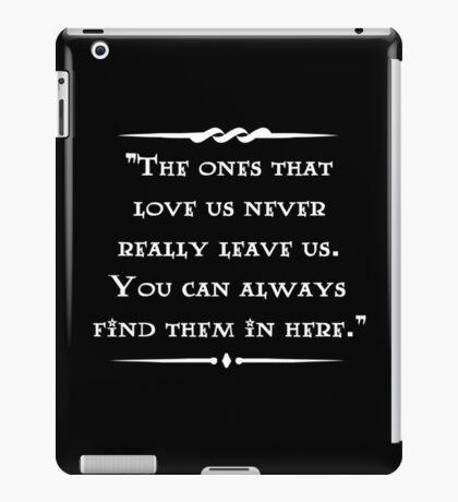 Sirius Black wisdom iPad Case/Skin
