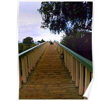 The foot bridge Poster