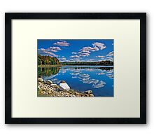 Rugg Pond Reflections Framed Print
