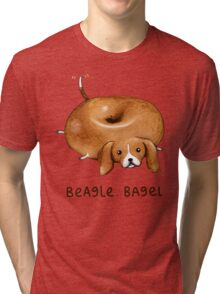 Beagle Bagel Tri-blend T-Shirt