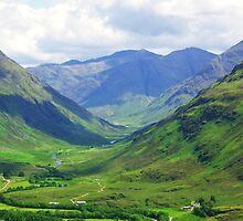 Glen Lichd - Kintail by caledoniadreamn