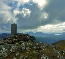 The Summit - Sgurr an Airgid by caledoniadreamn