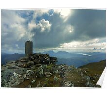 The Summit - Sgurr an Airgid Poster