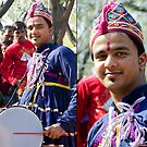 Gujarati Drummer by Neha  Gupta
