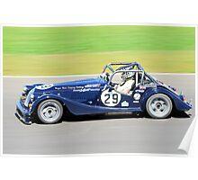 Morgan Plus 8 (Keith Ahlers) Poster