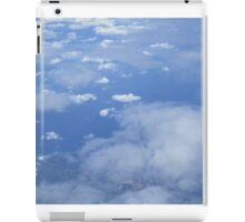 Clouds from above iPad Case/Skin