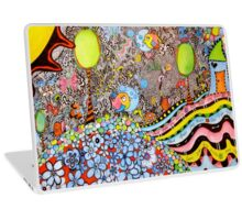 The Land Where Fish Fly Laptop Skin