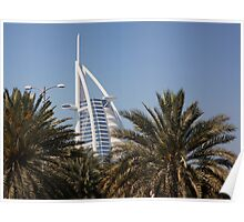 Burj Al Arab Hotel Poster