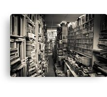 Books, Books, and more books!!!! Canvas Print