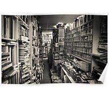 Books, Books, and more books!!!! Poster