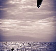 Kite surfing fun by MarcRusso