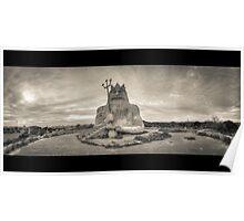 "King neptune from the abandoned theme park ""Atlantis"" Poster"