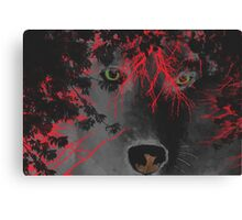 Creature of the Night - The Beast Canvas Print