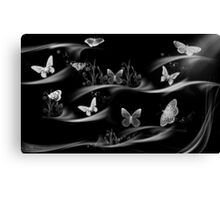 Butterflies-they always give feeling of freedom/ Black&white-Art + Design Products Canvas Print