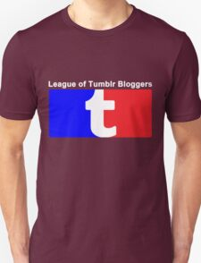 League of Tumblr Bloggers Unisex T-Shirt
