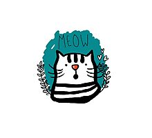 Meow Meow Photographic Print