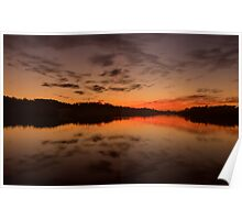 Burn For You - Narrabeen Lakes, Sydney Australia - The HDR Experience Poster