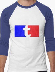 League of Tumblr Bloggers Men's Baseball ¾ T-Shirt
