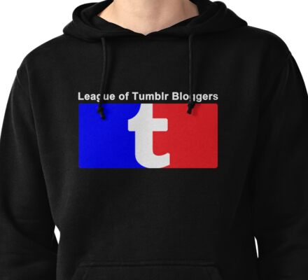 League of Tumblr Bloggers Pullover Hoodie