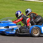 Historic sidecar race, Cadwell Park by Nick Barker