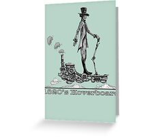 Steampunk Hoverboard Greeting Card