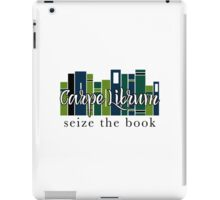 Carpe Librum Seize the book iPad Case/Skin