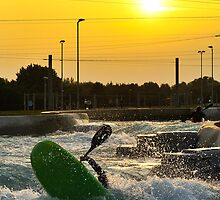 Sunset Kayak by Lea Valley Photographic