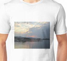 Aigio at sunset Unisex T-Shirt