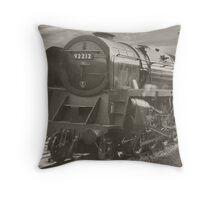 F9 Locomotive 92212 Throw Pillow