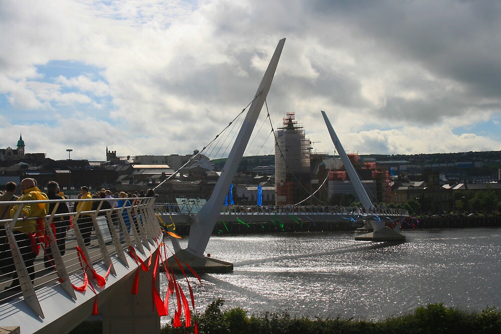 Derry Peace Bridge by Ciaran Sidwell