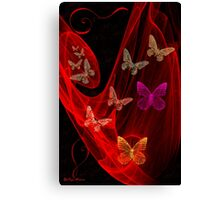 Butterflies -Art + Design Products Canvas Print