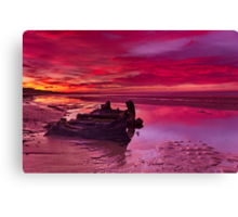 """""""Waiting For The Sunrise"""" Canvas Print"""