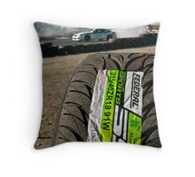 Federal tyres........ THE only tire for drifters... Throw Pillow