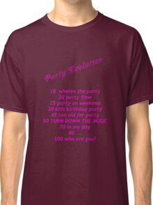 Party Evolution Classic T-Shirt