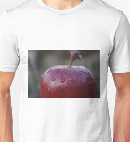 Red Apple Macro Unisex T-Shirt