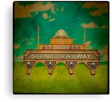 Scenic Railway Canvas Print