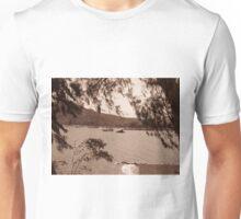 Boats on the water near Nafplio Unisex T-Shirt