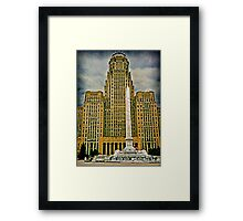 Shuffle Off To Buffalo - This Way! This Way! Framed Print