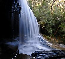 Lower Somersby Falls, the Side View. by bazcelt