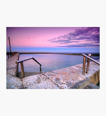 Mona Vale in Pink Photographic Print