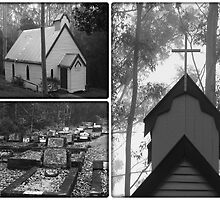 ~ St Barnabas Church and gravesite ~ by Donna Keevers Driver