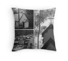 ~ St Barnabas Church and gravesite ~ Throw Pillow