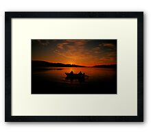 Greeting the Morn - Narrabeen Lakes, Sydney Australia - The HDR Experience Framed Print