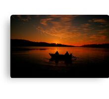 Greeting the Morn - Narrabeen Lakes, Sydney Australia - The HDR Experience Canvas Print