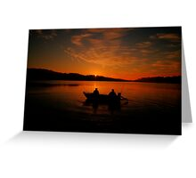 Greeting the Morn - Narrabeen Lakes, Sydney Australia - The HDR Experience Greeting Card