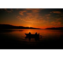Greeting the Morn - Narrabeen Lakes, Sydney Australia - The HDR Experience Photographic Print